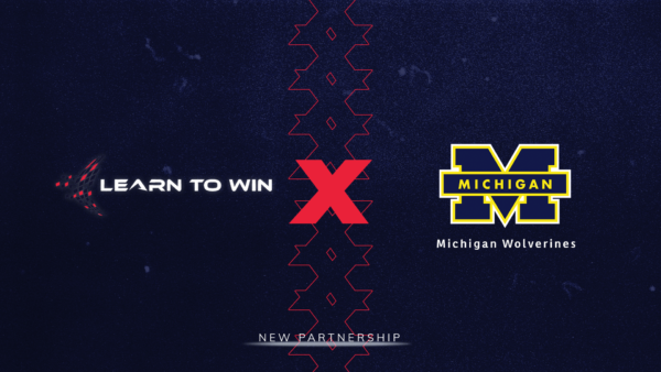Learn to Win X Michigan Wolverines graphic