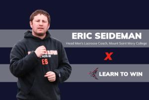 Eric Seideman, men's lacrosse coach