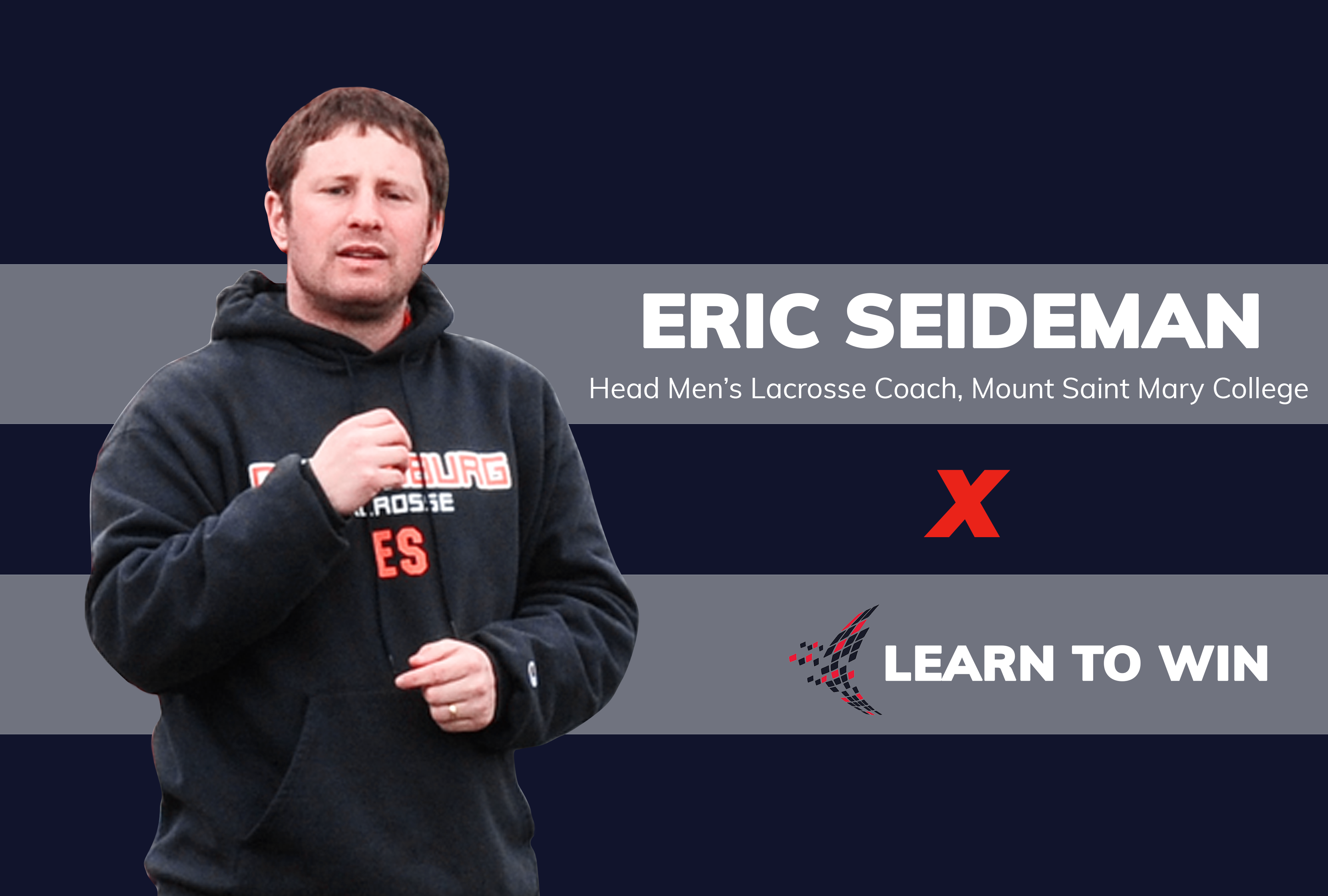 Eric Seideman, men's lacrosse coach