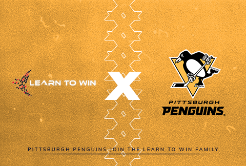 Learn to Win X Penguins graphic